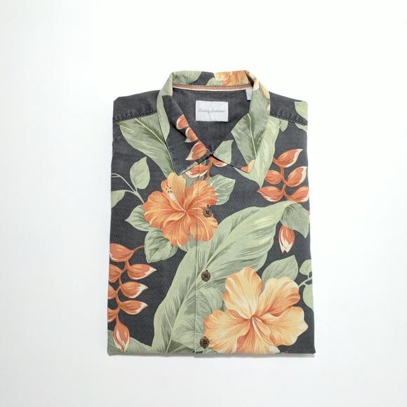11113d06 Tommy Bahama Shirts | Mens Silk Aloha Shirt Large | Poshmark